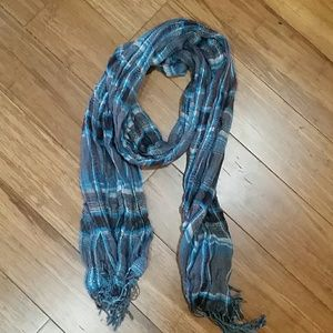 Accessories - Blue and Gray Scarf
